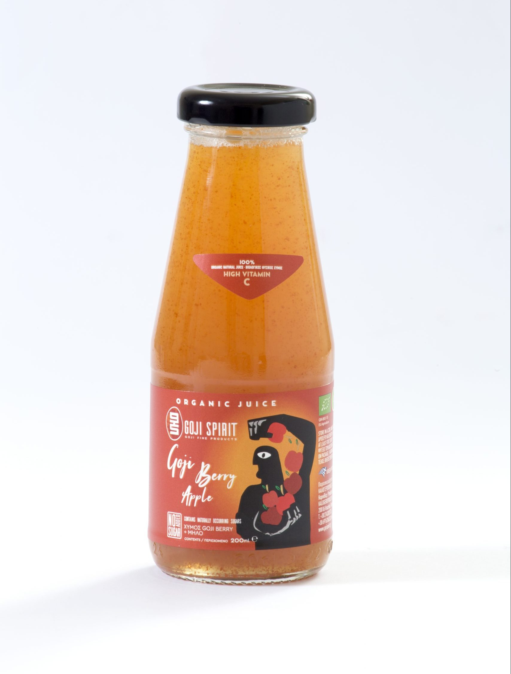 Βιολογικός Χυμός Goji Berry με Μήλο