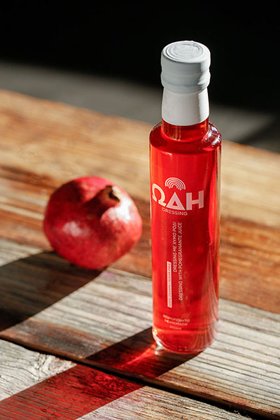 ρόδι pomegranate dressing